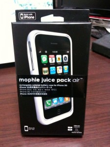 mophie juice pack airレビュー